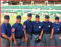 umpires baseball softball