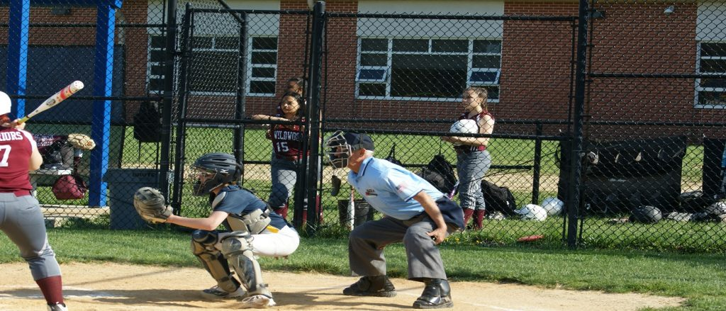 Plate Umpire Stance
